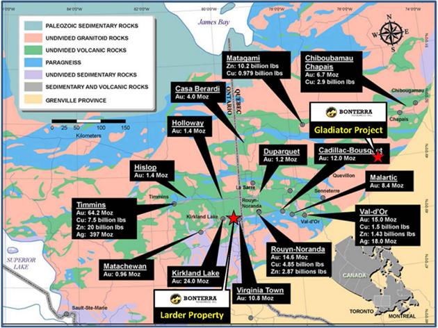 BonTerra Property Map