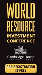 Cambridge World Resource Investment Conference