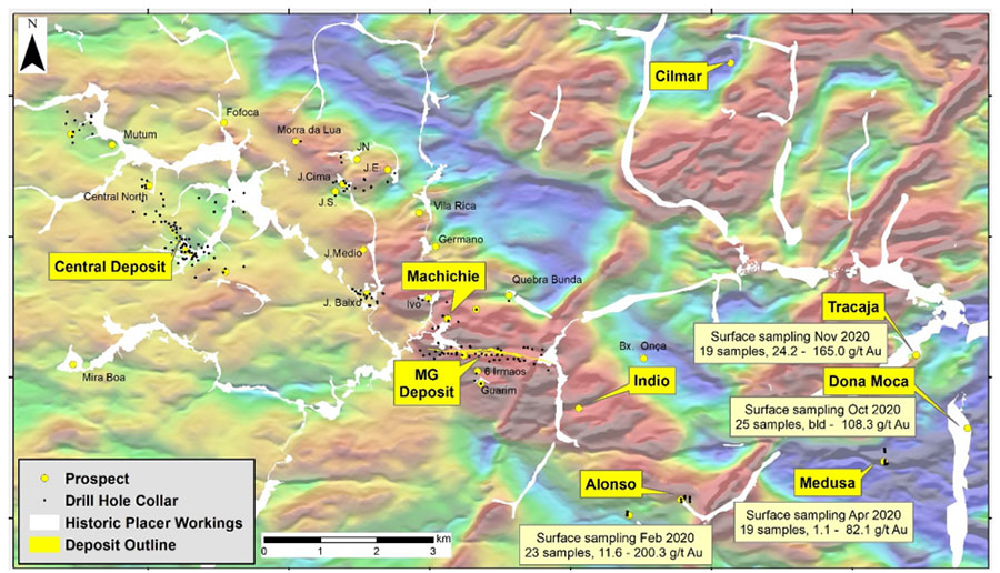 Resource Company Identifies New 'Compelling' Drill Target at Brazil Project