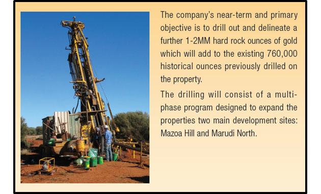 Guyana Goldstrike's Marudi Gold Project
