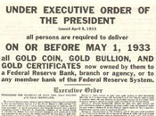 Gold Confiscation Act
