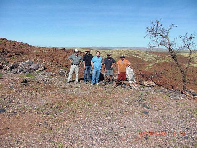 Prospecting Group Pilbara 2009