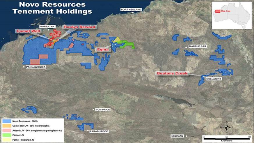 Novo Resources Tenement Holdings