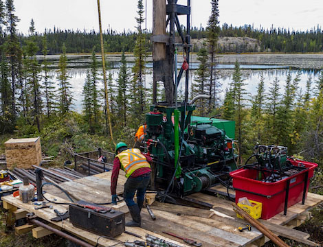 Miner Explores 'Exciting Economics' of Prospect in Northern Canada