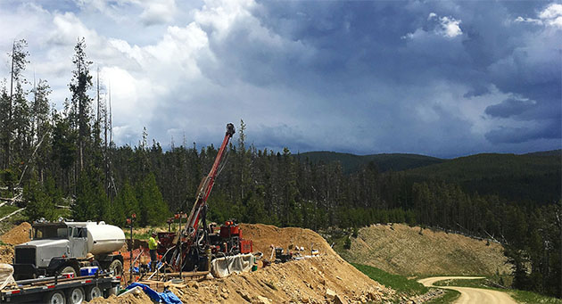 Drill Results Show Extending Mineralization with 'Relatively High' Grades