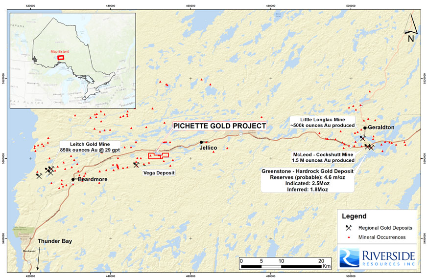 Riverside Resources Takes on New Project in Ontario