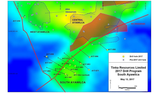 2017 South Ayawilca Drill Program