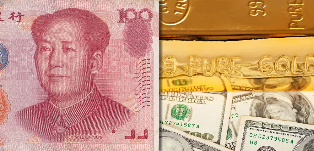 China, Gold and the US Dollar