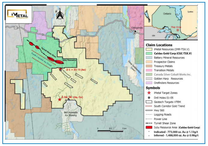 Explorer Discovers New Gold Mineralization at Abitibi Gold Belt Property