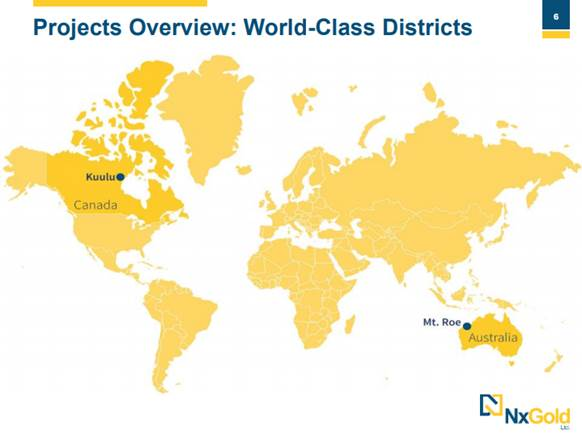 Explorer's Focus Is on 'High-Grade Gold in World-Class Districts'