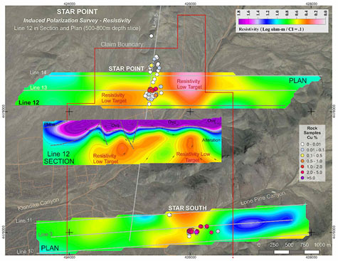 Getchell Star Point IP Map
