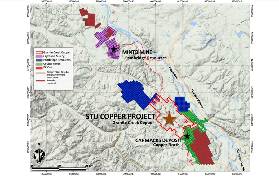 Initial Efforts Yield Four Exploration Targets in Yukon Copper District