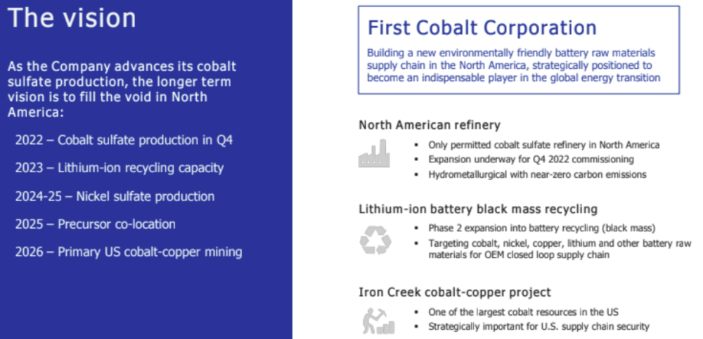 First Cobalt Corp epstein