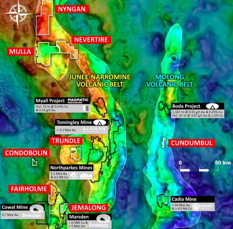 Kincora map
