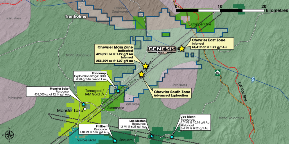Gold Exploration in the Heart of the Abitibi Greenstone Belt